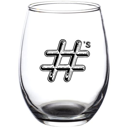 Numbers Wine glasses